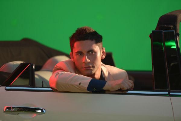 Съемки клипа на песню Lendo Calendo