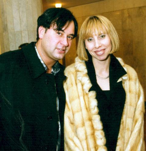 Валерий Меладзе с бывшей супругой Ириной