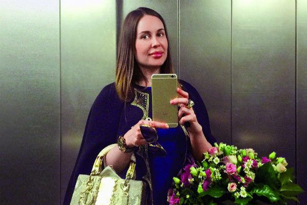 Юлия Михалкова нашла наконец время для себя и друзей