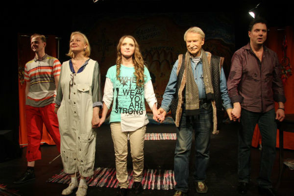 Супруги Краско впервые сыграли на одной сцене