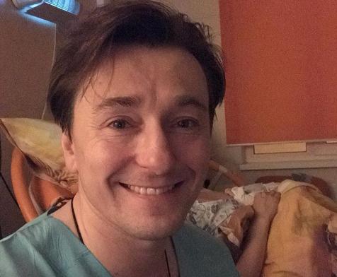 О появлении на свет сына Безруков рассказал в своем микроблоге