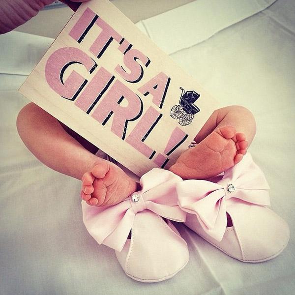 Это девочка!