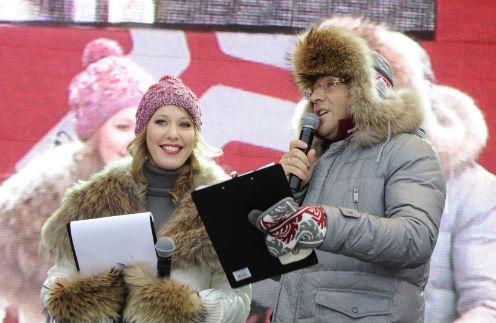 Вели мероприятие Ксения Собчак и Андрей Малахов