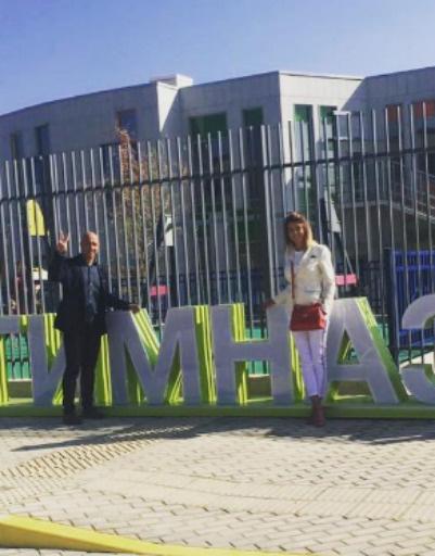 Денис Майданов с дочерью