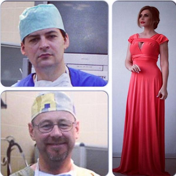 Ирина Александровна со своими докторами