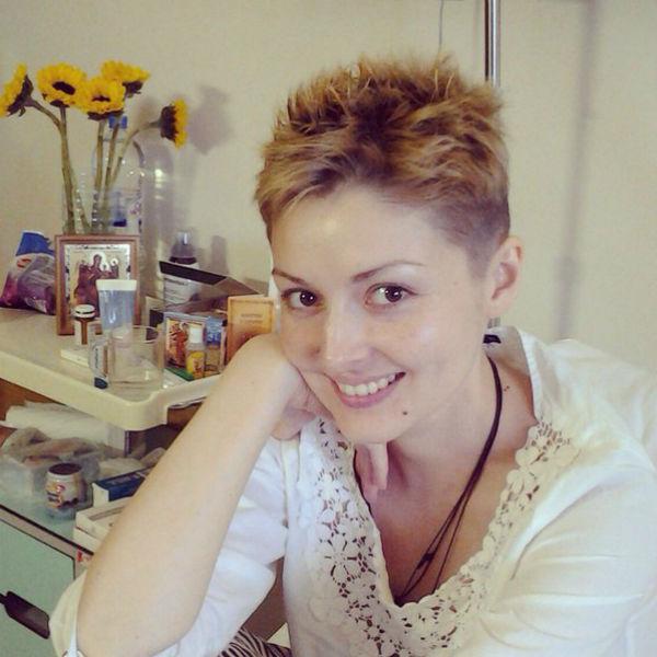 Актриса проходит третий курс химиотерапии