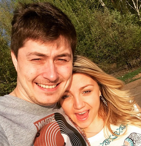 Сергей Оборин с Анной Бажановой