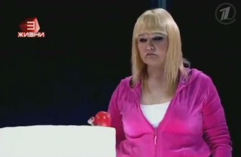 Суханкина с 3-й попытки закинула мяч в урну