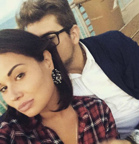 Анастасия Кочеткова с женихом