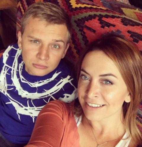 Наталья Фриске с мужем Сергеем