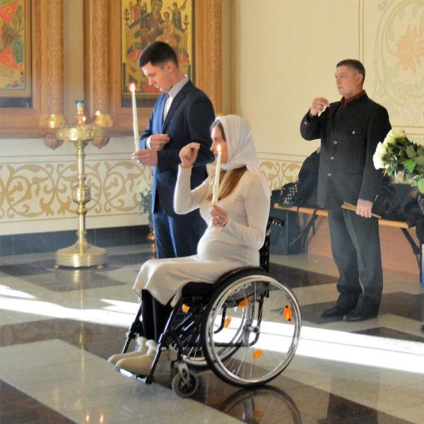 Венчание прошло в одном из храмов Петербурга