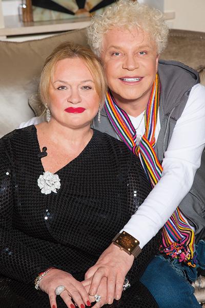 Бориса и Адель более 20 лет связывают близкие отношения, февраль 2010 года