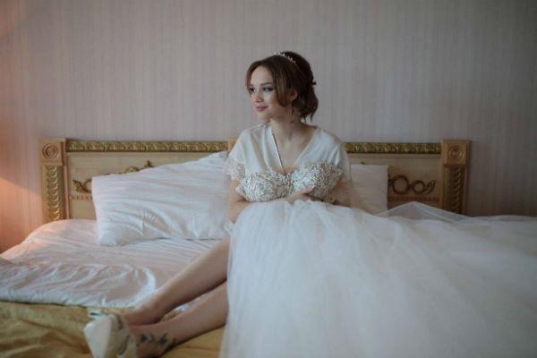 Диана провела утро перед церемонией в одном из отелей