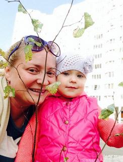 Светлана с дочкой Варей