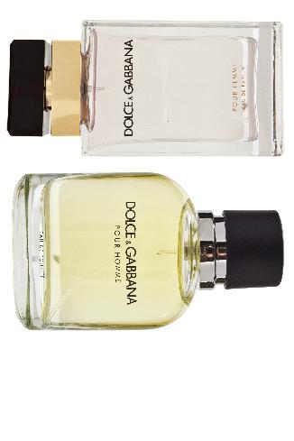 Dolce & Gabbana Pour Femme и Pour Homme, 2099 и 1785 руб.