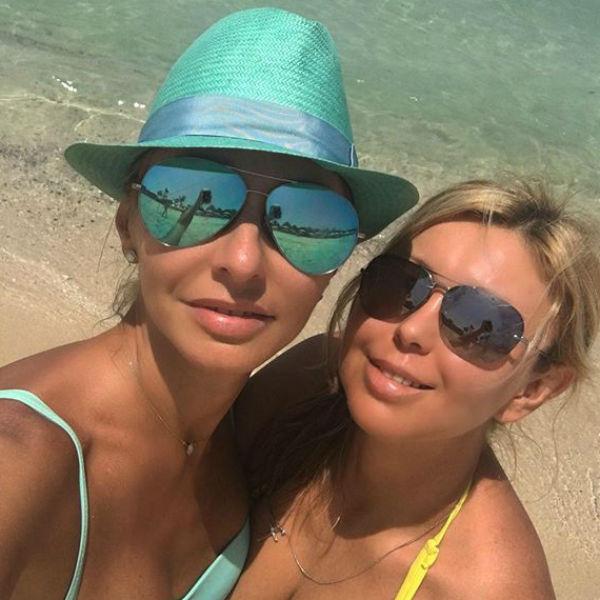 Компанию Татьяне составила также ее сестра Наталья Навка