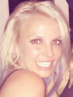 Бритни Спирс на прошлой неделе