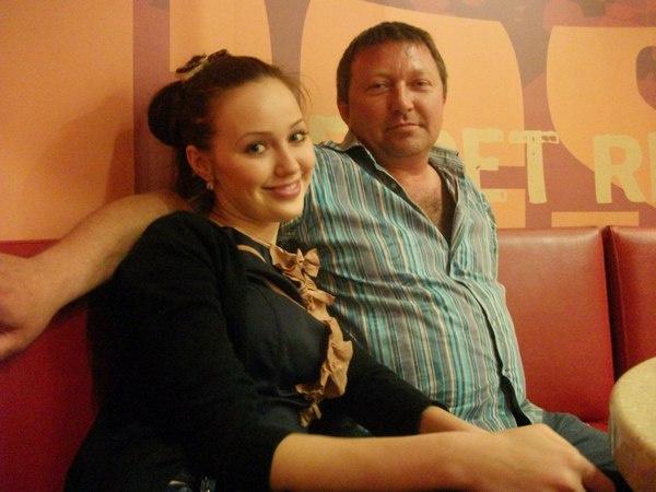 Анастасия Костенко с отцом