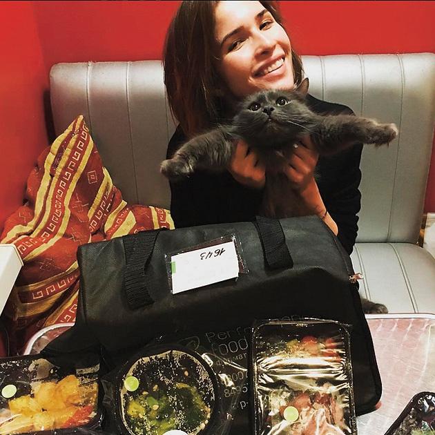 Заботиться о фигуре актрисе Лукерье Ильяшенко помогает компания Performance Food