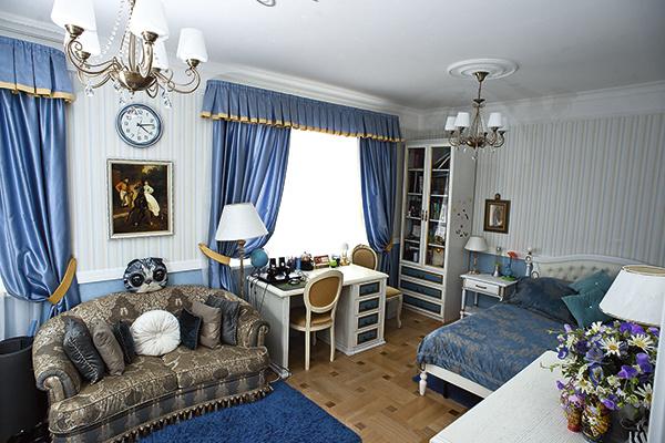Это комната сына Климовой – 14-летнего Никиты