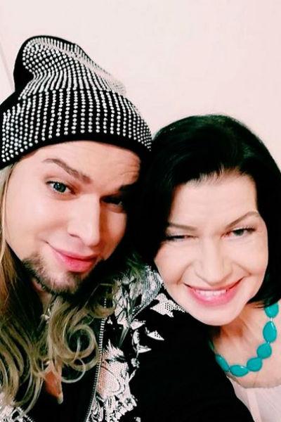 Гоген Солнцев с женой Екатериной Терешкович