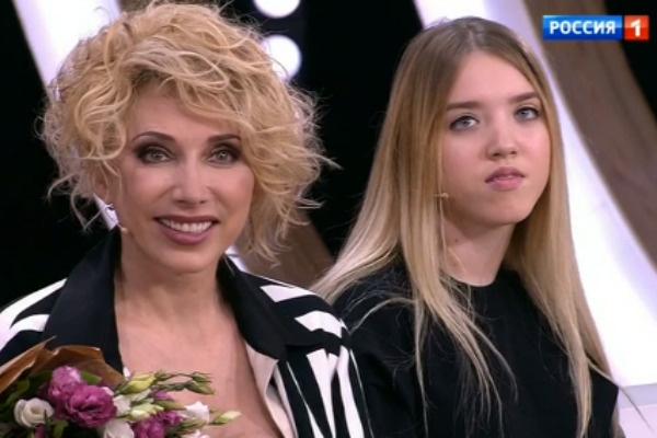 Елена Воробей и ее дочь Соня