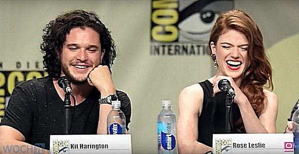 Кит Харингтон и Роуз Лесли познакомились на съемках второго сезона популярного сериала
