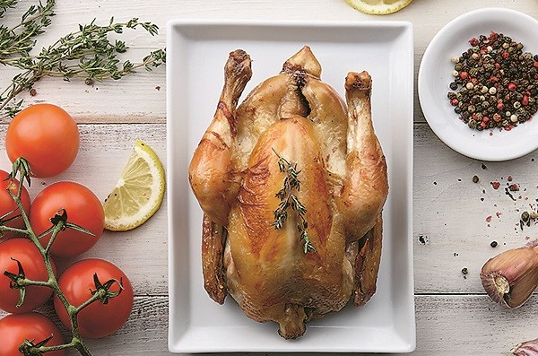 Свежезапеченная курица - специально для Софии Ротару