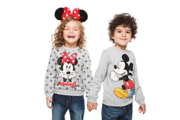 Дети теперь смогут носить стильные вещи с изображением любимых персонажей