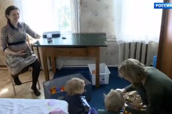 Вальтер навещает детей и ждет появления на свет третьего ребенка