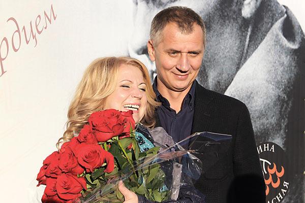Ольга с гражданским мужем Александром Юрпаловым
