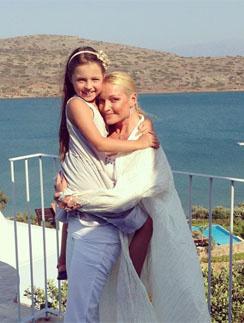 Душевные раны Волочкова лечит общением с дочерью