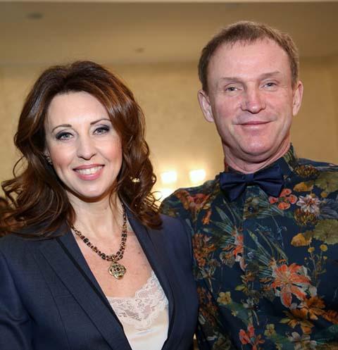 Наталья Сенчукова и Виктор Рыбин