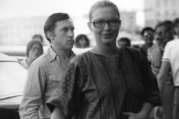 Мариан Влади и Владимир Высоцкий