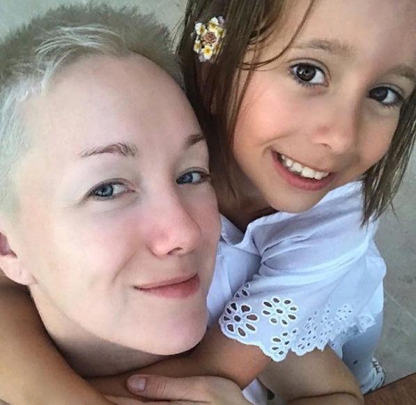 Мороз с дочерью Анной