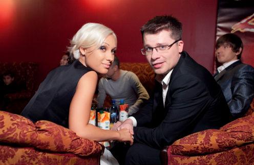Гарик Харламов с бывшей женой Юлией Лещенко
