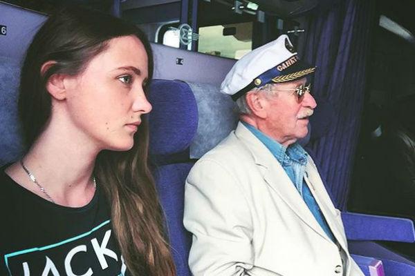 Наталья и Иван Краско во время путешествия