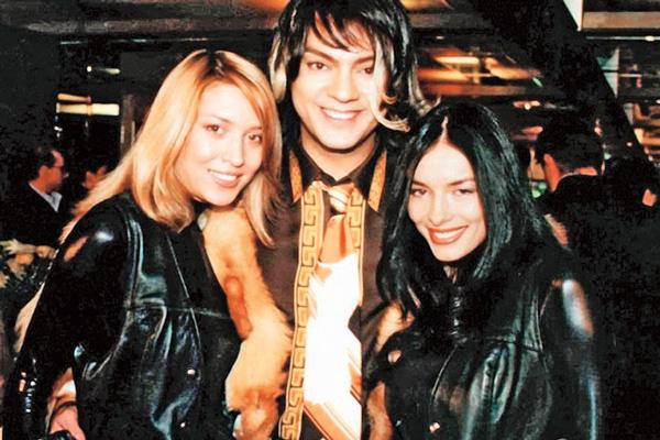 У Алены и Нади были поклонники и среди звезд. С Филиппом Киркоровым на премии «Лица года – 2001»