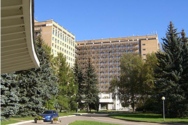 Актриса лежала в Центральном военном госпитале имени Вишневского