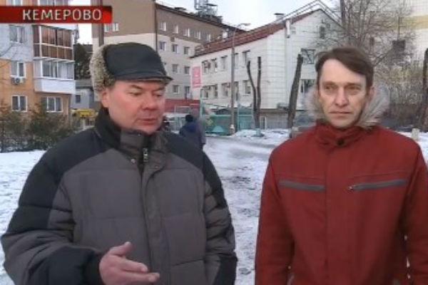 Константин Колобухов и Сергей Тищенко