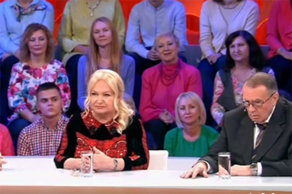 Родители Яны Рудковской Светлана Николаевна и Александр Евгеньевич