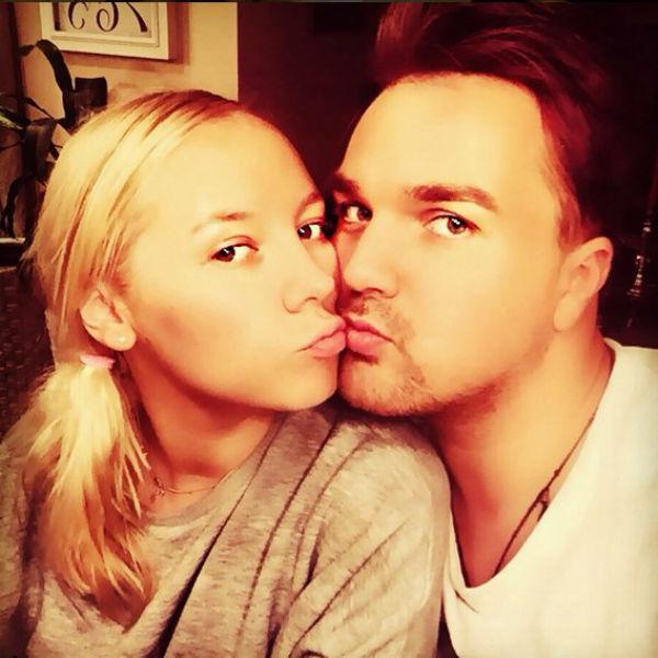 Александр Панайотов с женой Екатериной