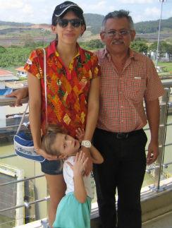 «Мы с Мартой отправились в Панаму в гости к дедушке»
