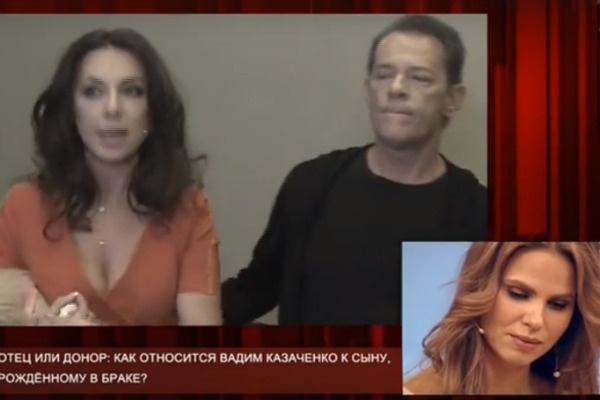 Теперь Вадим живет с Ириной и судится с Ольгой