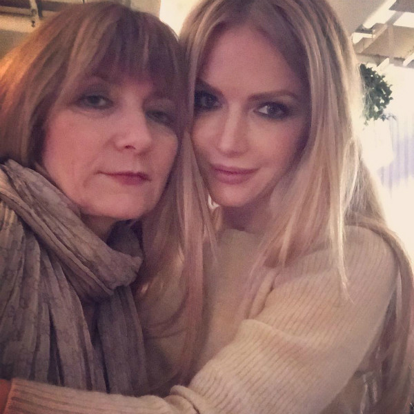 Певица с мамой Жанной Олеговной