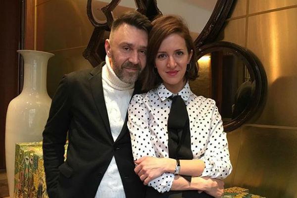 Сергей Шнуров с женой Матильдой
