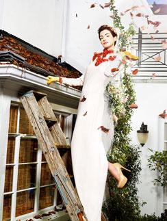 Энн Хэтэуэй в преоскаровской фотосессии