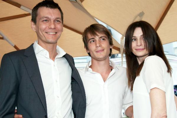 Родители - Филипп Янковский и Оксана Фандера - гордятся киноуспехами сына Ивана