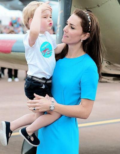 На момент рождения принца, его маме тоже был 31 год