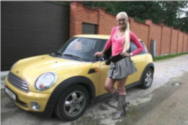 Раньше Ольга обожала свою маленькую машину